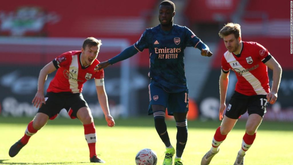 Arsenal knocked out of FA Cup after defeat by Southampton