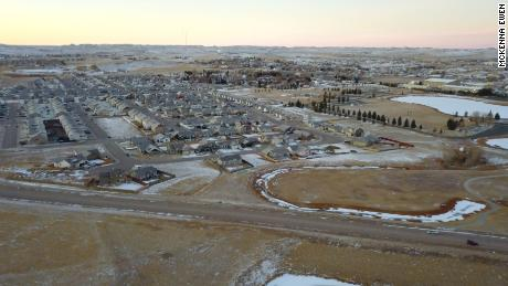 The city of Gillette, Wyoming.