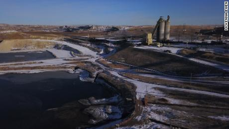 The Wyodak power plant, located near Gillette, Wyoming.