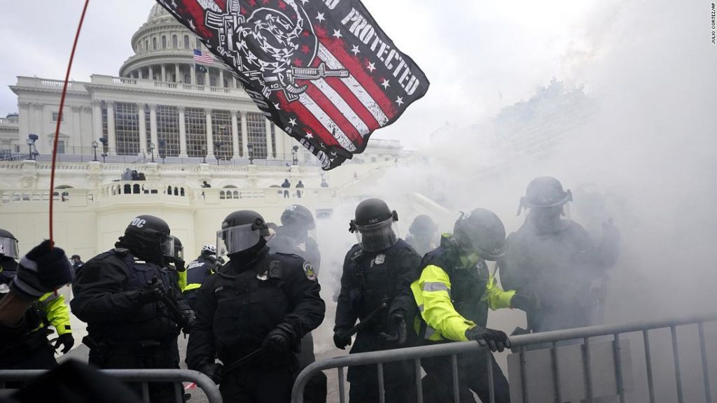 38 Capitol Police officers test positive for Covid-19 after Capitol riot