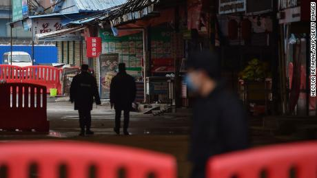 The Huanan Seafood Wholesale Market, known as the ground zero of the outbreak, was shut down last January.