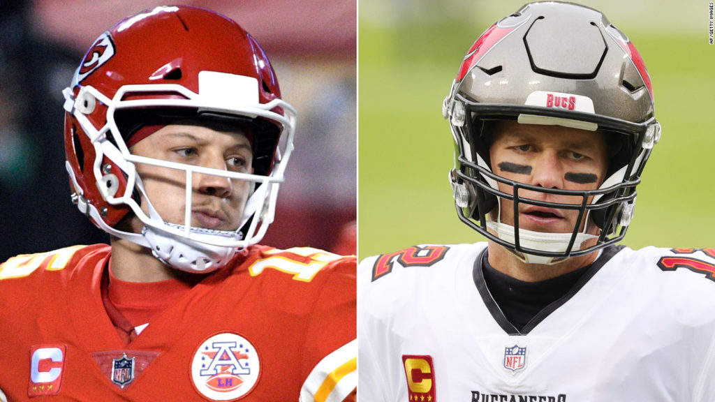 Tom Brady vs. Patrick Mahomes in the Super Bowl is 'like LeBron and Jordan playing in the Finals'