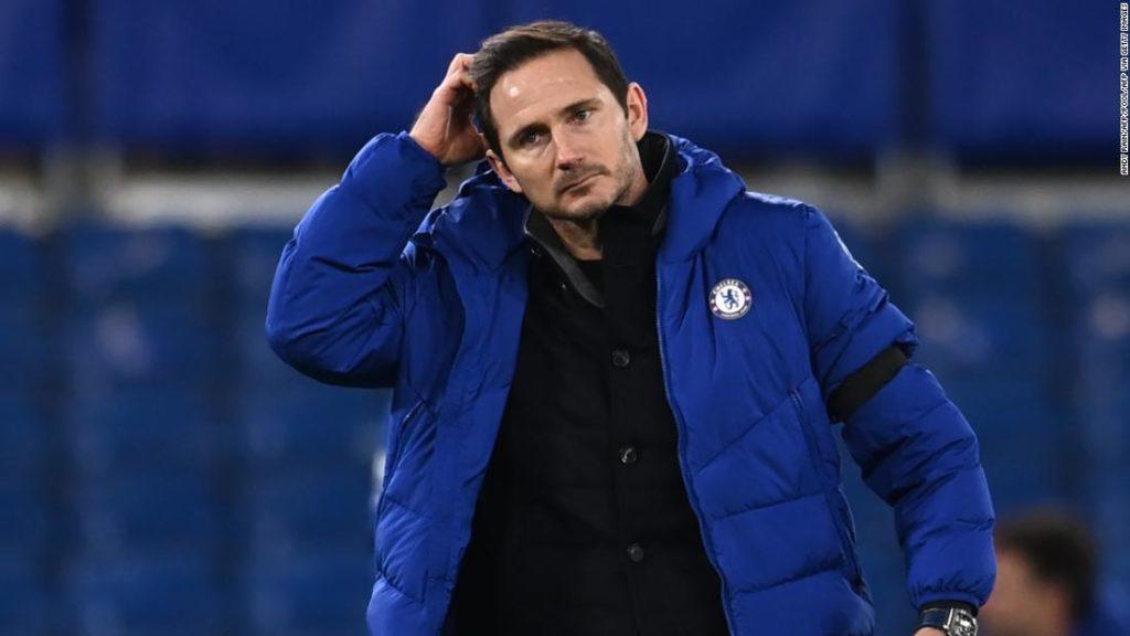 Chelsea sacks manager Frank Lampard