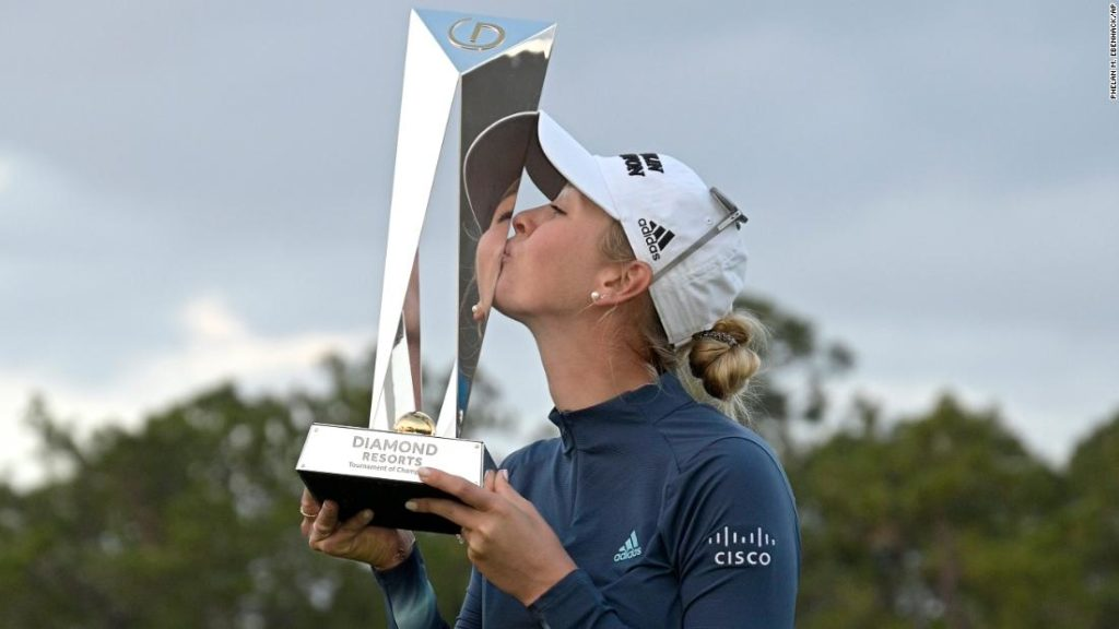 Jessica Korda: Sisters have a weekend on LPGA Tour they'll never forget