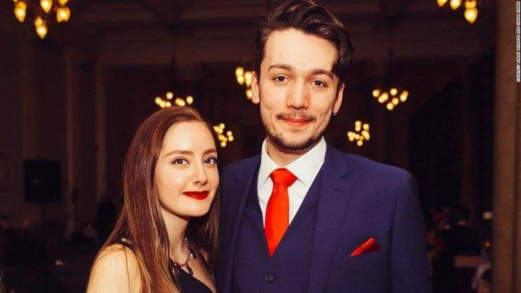 He flew to Paris to surprise his girlfriend. She flew to Edinburgh to surprise him