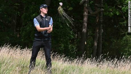 At the British Masters an injury to his foot led to another period on the sidelines for R.Hojgaard.