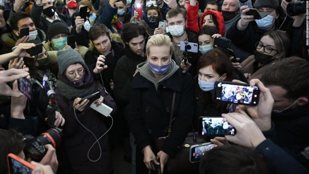 Yulia Navalnaya's husband Alexey Navalny was poisoned and detained. Now she is piling pressure on Vladimir Putin