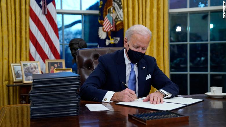 Biden's executive orders: View the list
