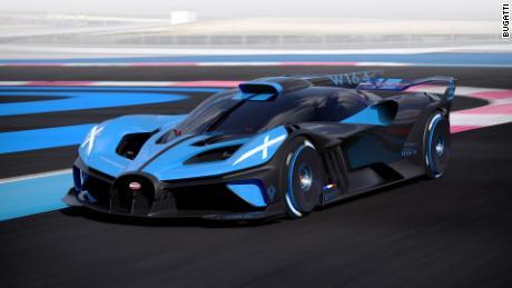 Bugatti unveils a super light hypercar that can top 300 mph