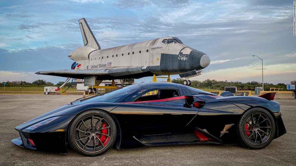 This car maker says it topped 300 mph once before. But it's not so easy to do it again