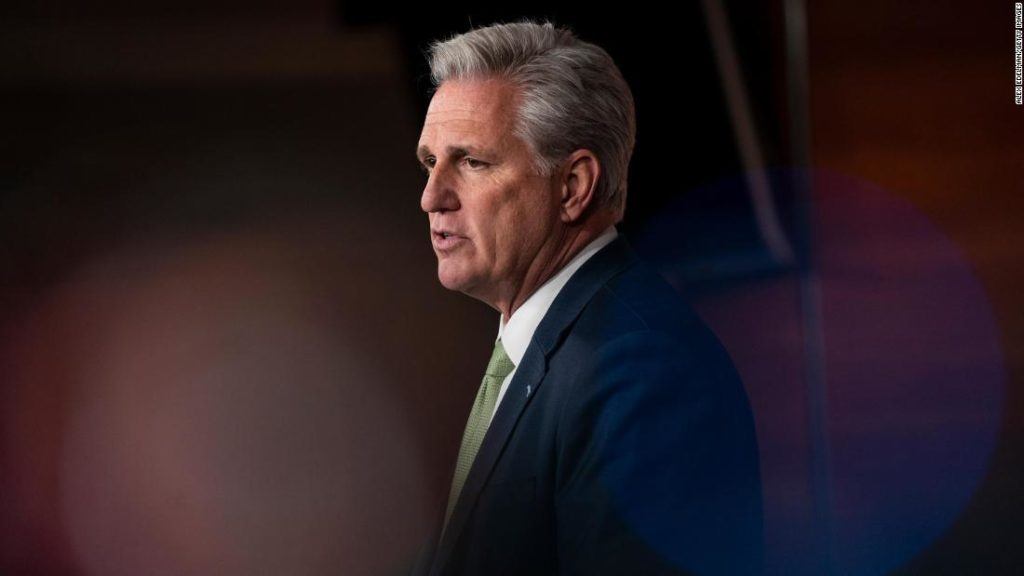 McCarthy tells GOP to stop attacking each other: 'Cut that crap out'