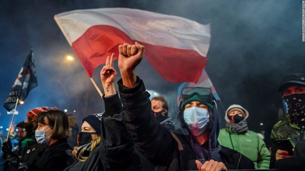 Poland abortion law: New restrictions go into effect, resulting in a near-total ban on terminations