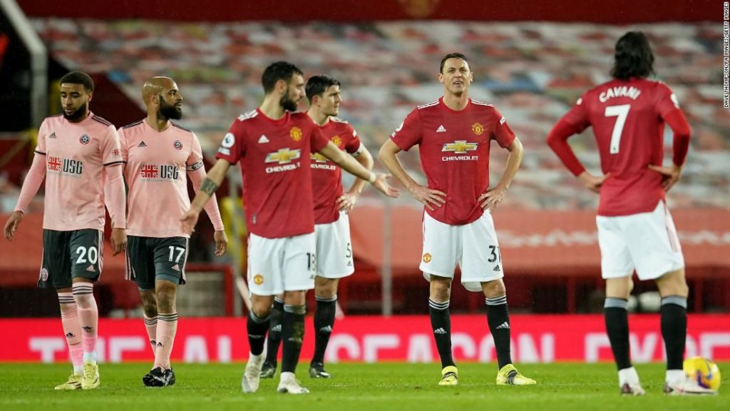 Manchester United stunned by bottom side Sheffield United as crazy Premier League season gets crazier