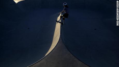 """""""Getting hurt is the biggest part of skateboarding,"""" says Minna."""