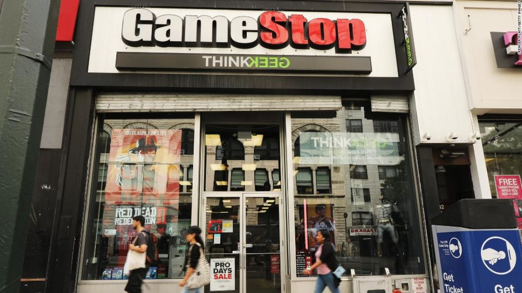 GameStop's stock is soaring, thanks to Reddit. Here's why