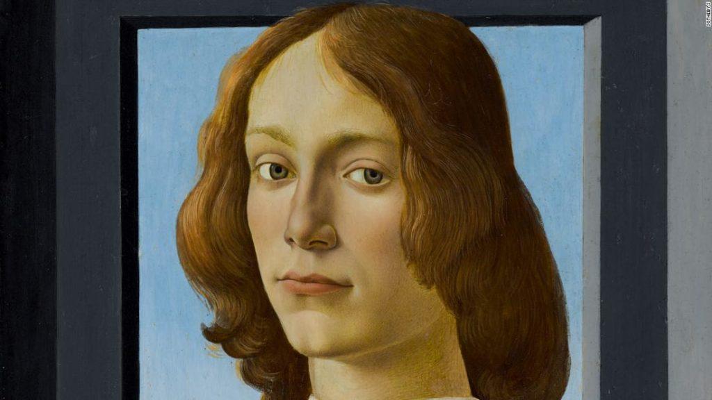 Botticelli portrait sells at auction for over $92 million