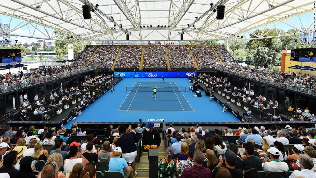 Australian Open: Maskless crowds pack tennis exhibition in Covid-free Adelaide