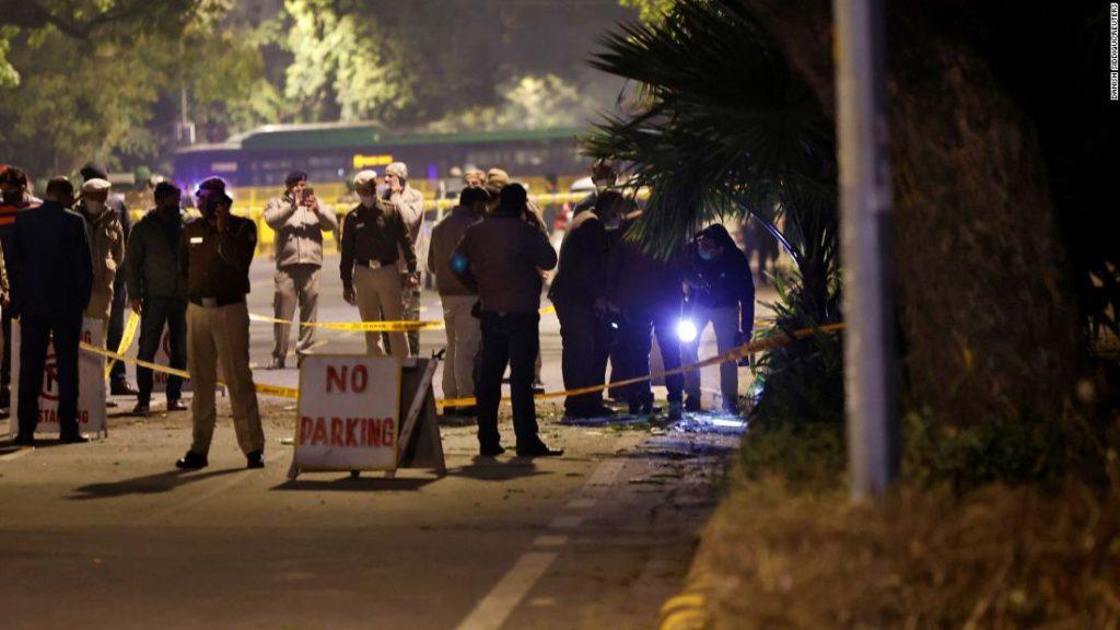 India: Small blast near Israeli embassy in New Delhi