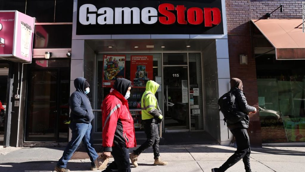 Short-sellers have lost nearly $8 billion on GameStop today