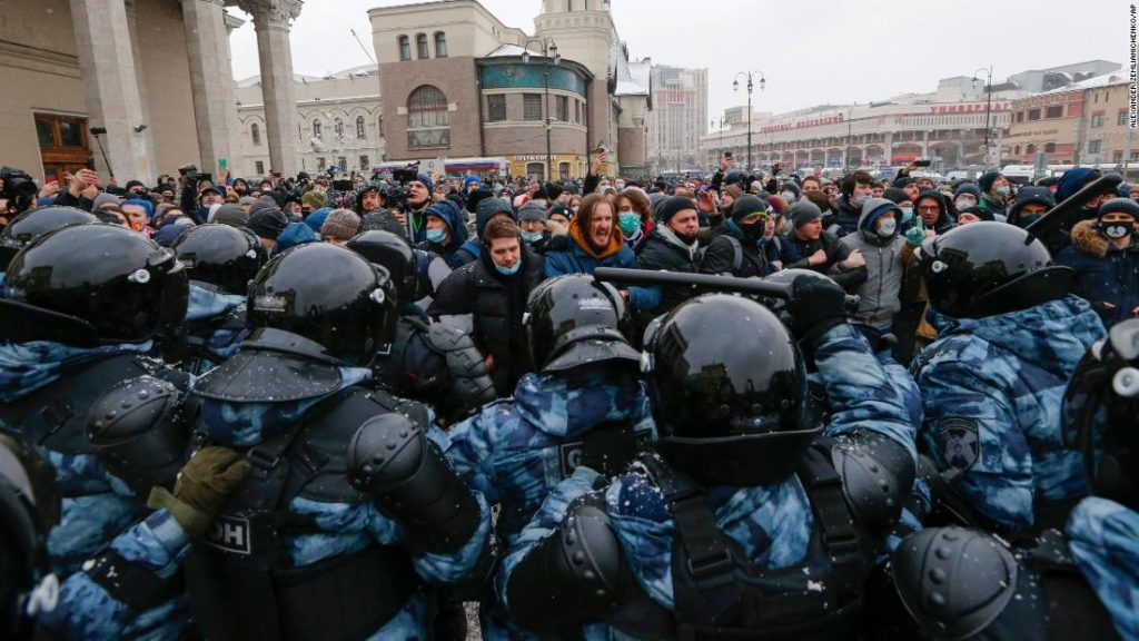 Russia protests: Yulia Navalnaya, wife of Alexey Navalny, released after detention in Moscow