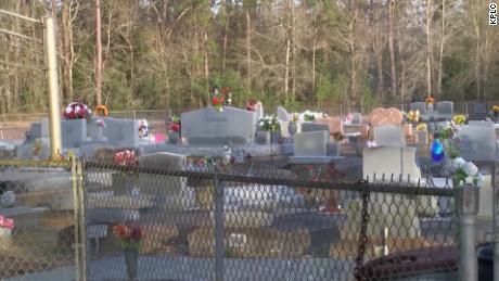 Oaklin Springs Cemetery in Oberlin, Louisiana.