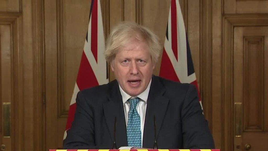 Boris Johnson condemns Trump's actions