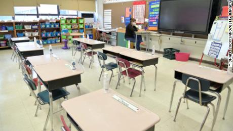 Biden pushes to reopen schools within 100 days