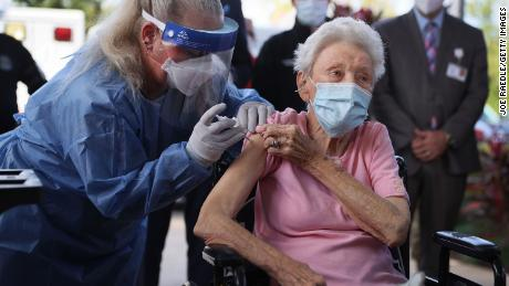 CVS and Walgreens under fire for slow pace of vaccination in nursing homes