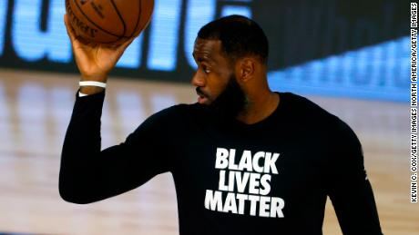 LeBron James has used his platform to call for the end of police brutality.