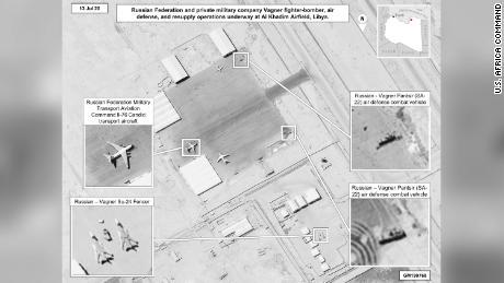 US again accuses Russia of sending arms and mercenaries to Libya
