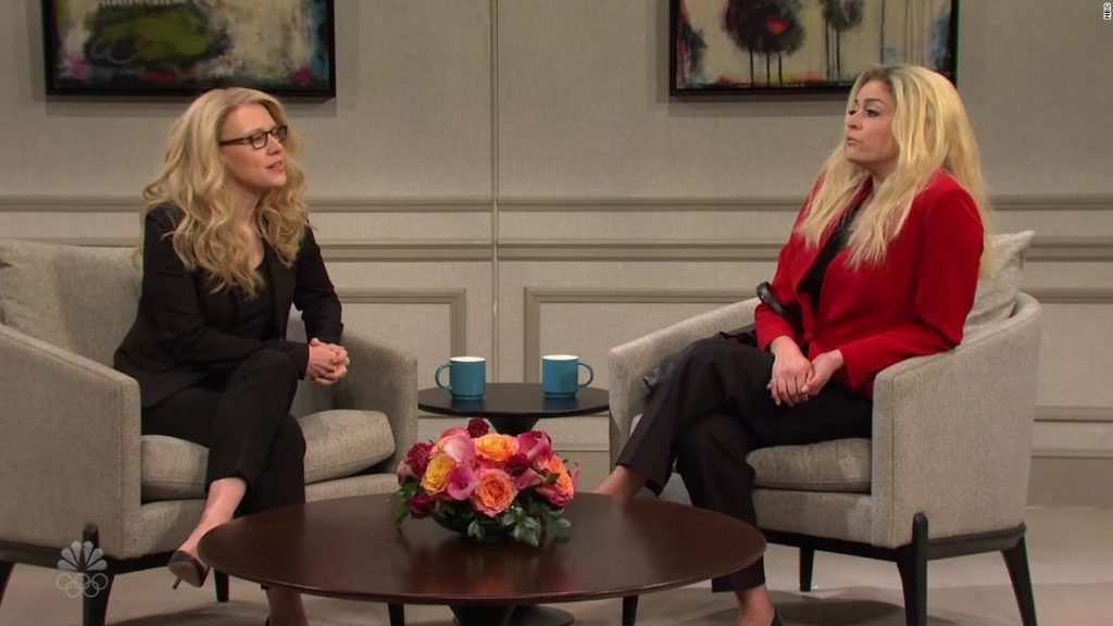 'SNL' takes on Marjorie Taylor Greene, GameStop and Tom Brady