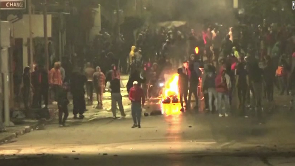 Tunisian cabinet reshuffled after violent protests