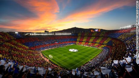 Barcelona's first team squad will have to go undergo further testing after two players tested positive for Covid-19.