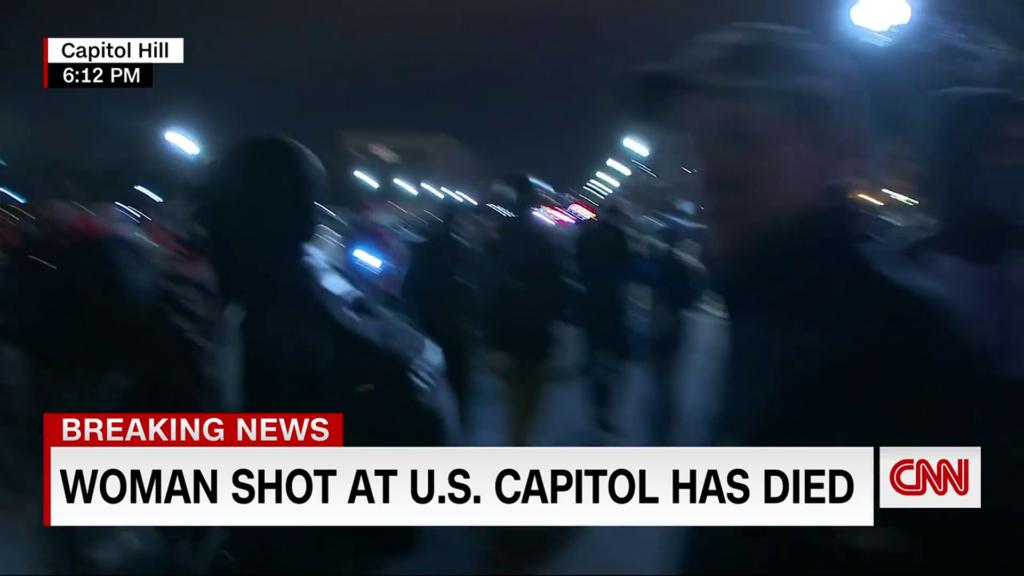 Woman shot inside Capitol pronounced dead, DC police confirm