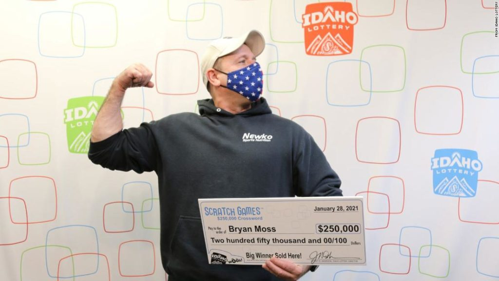 Idaho man wins lottery for the sixth time