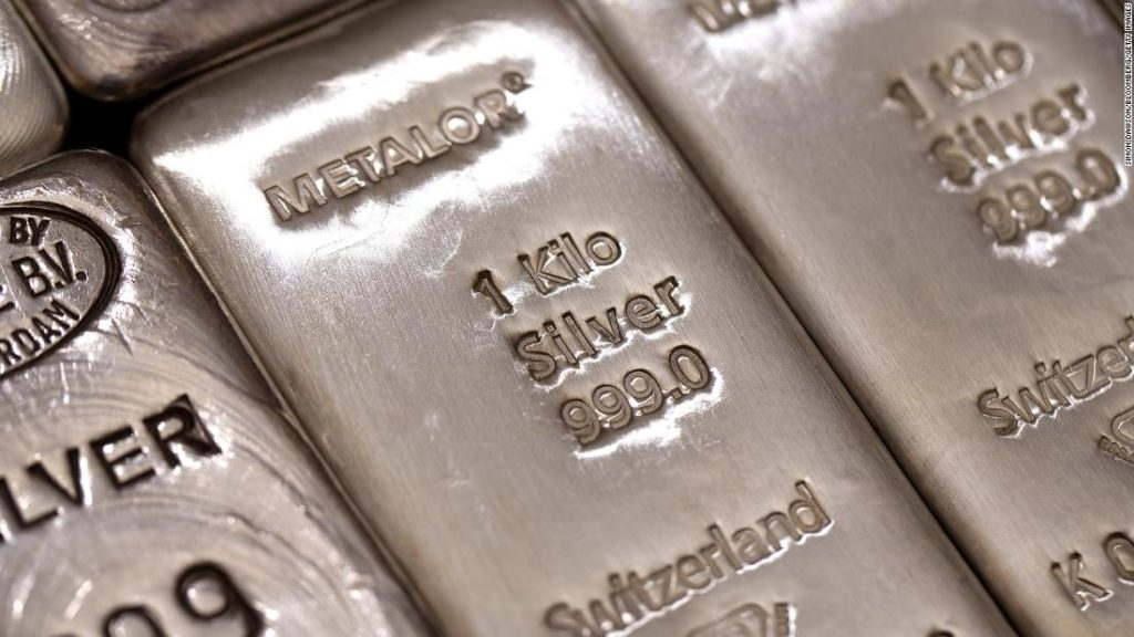 Silver prices: Big surge as Reddit army targets precious metals