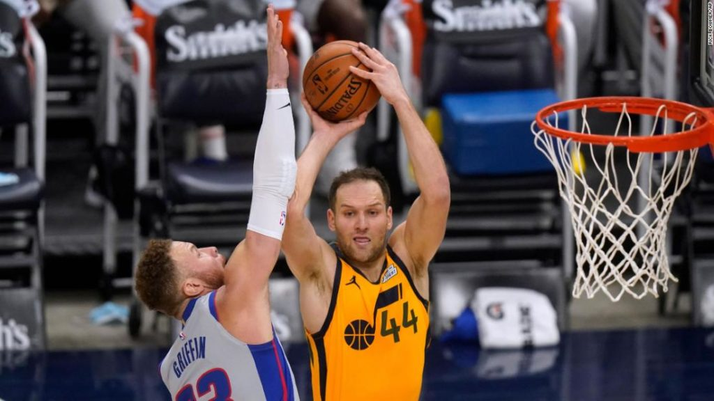 NBA: The West has a new best as Utah Jazz win and Los Angeles Clippers fall