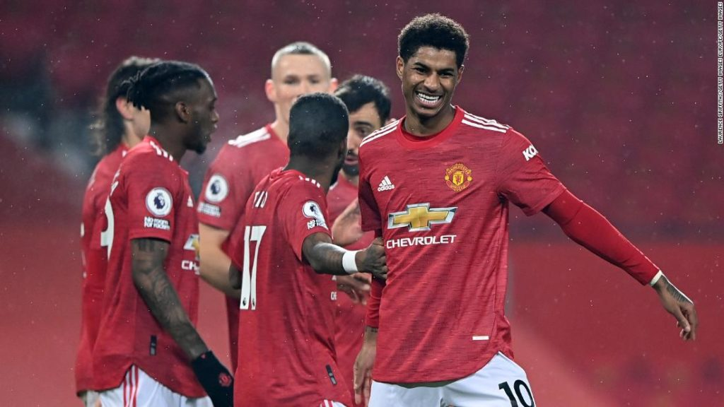 Manchester United puts nine past Southampton to equal Premier League record