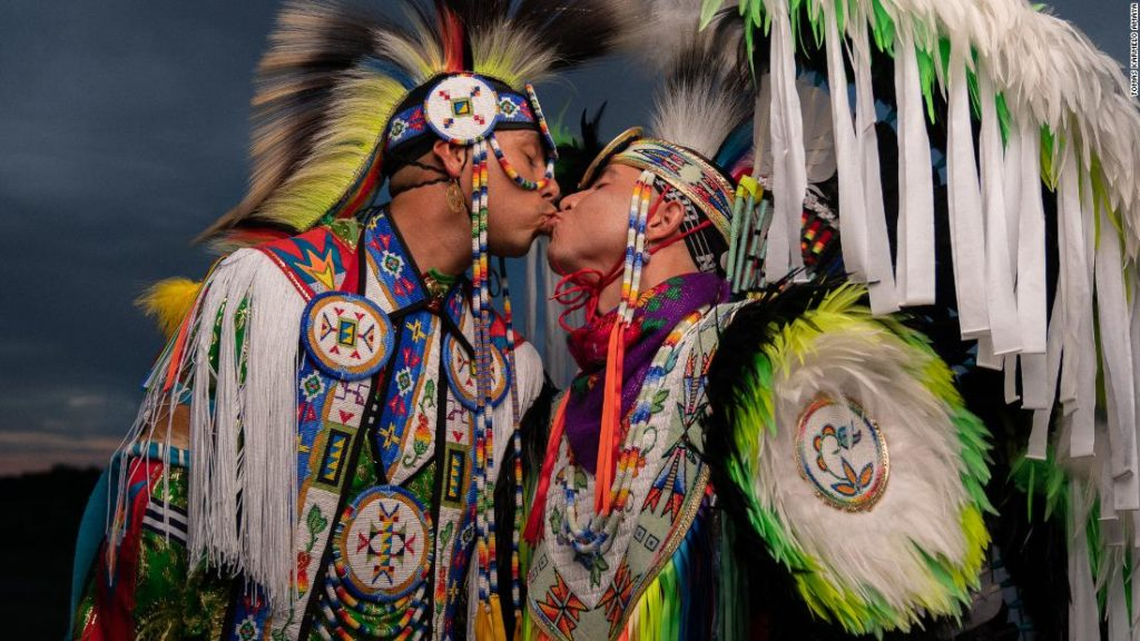 The Native American couple redefining cultural norms -- in photos