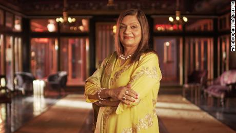 """Sima Taparia, the star of """"Indian Matchmaking."""" The reality show, which followed the love lives of people in India and the United States, became an international sensation."""