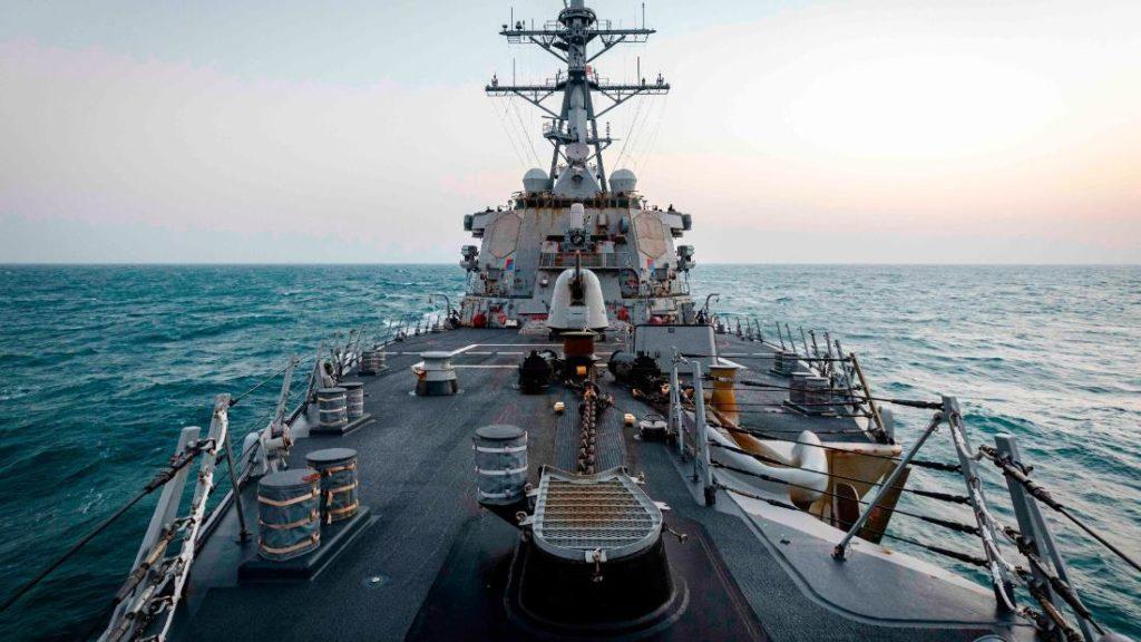 US sends warship through Taiwan Strait for first time under Biden