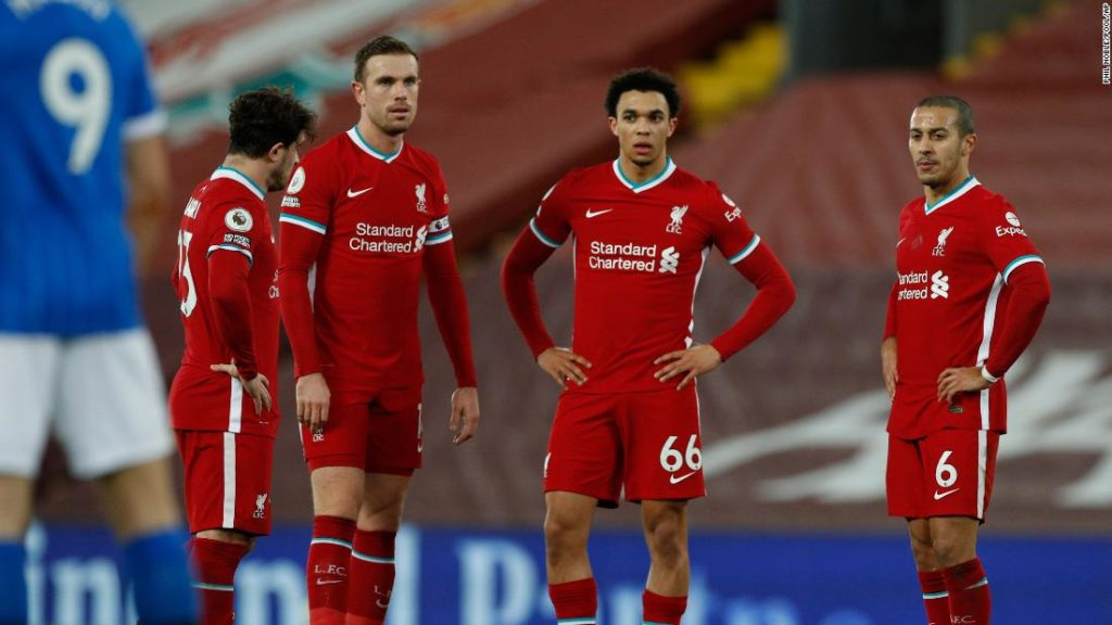 Liverpool's shock loss to Brighton leaves it far behind league leaders