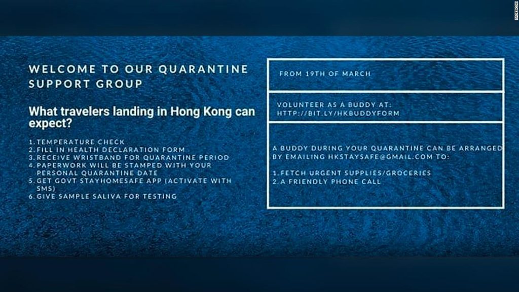 A 30,000-member Facebook group is helping Hong Kongers navigate one of the world's longest quarantines