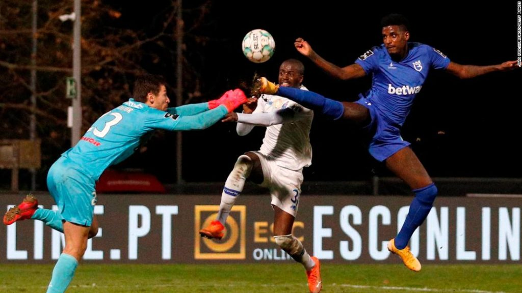Nanu: Porto defender suffers spinal cord injury after collision with goalkeeper