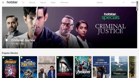Disney already has a booming streaming service. It's called Hotstar