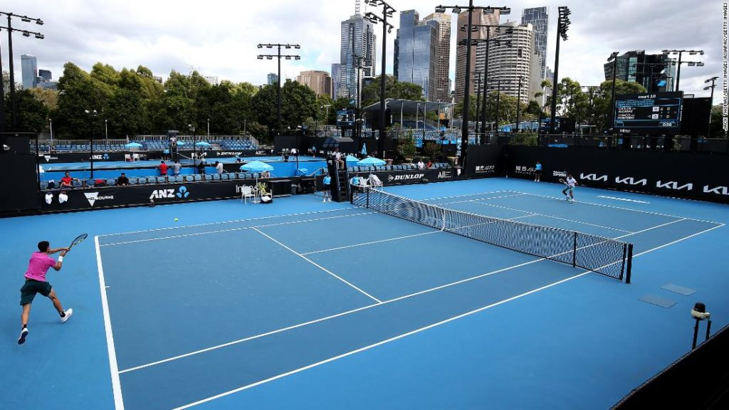 Australian Open: All players test negative for Covid-19