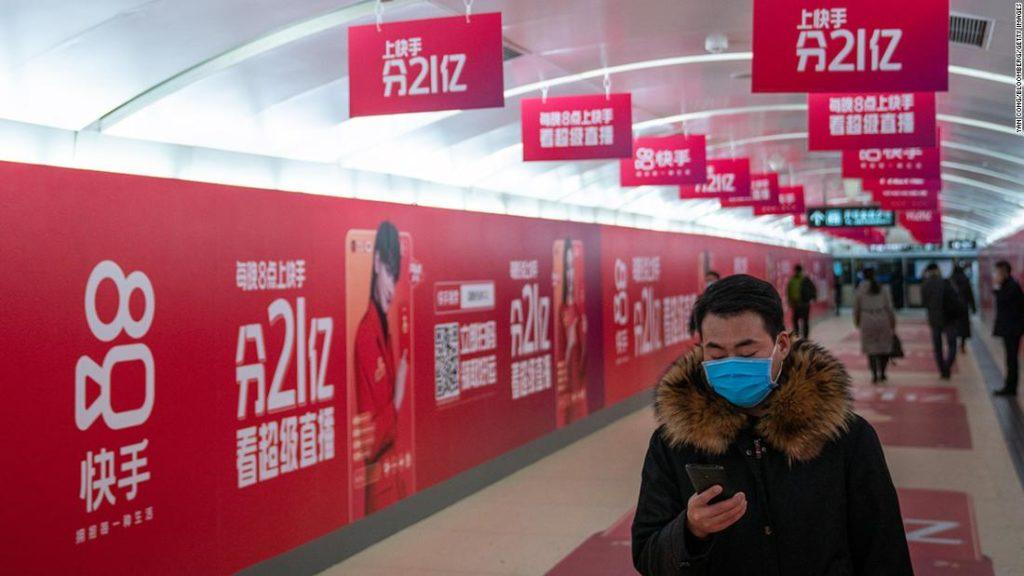 Kuaishou stock pops 160% in Hong Kong IPO
