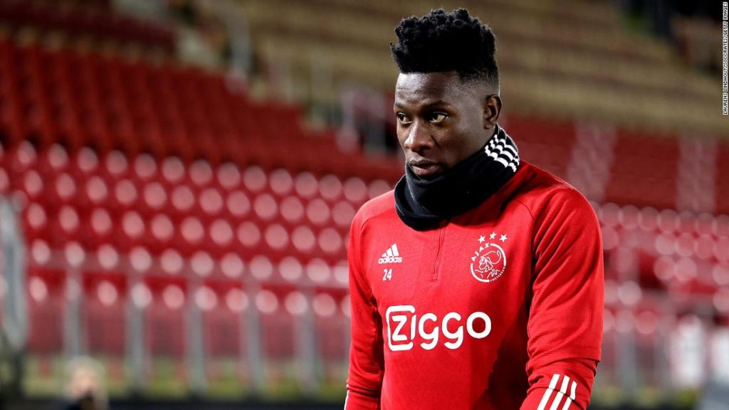 Andre Onana: Ajax goalkeeper calls 12-month doping suspension 'excessive and disproportionate'