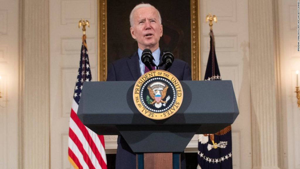Biden says he doesn't think $15 minimum wage will 'survive' in his Covid-19 relief proposal