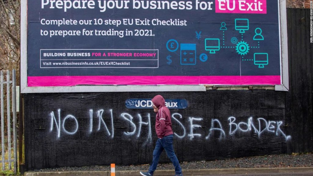 Brexit is just weeks old, and it's already threatening fragile political stability in Northern Ireland